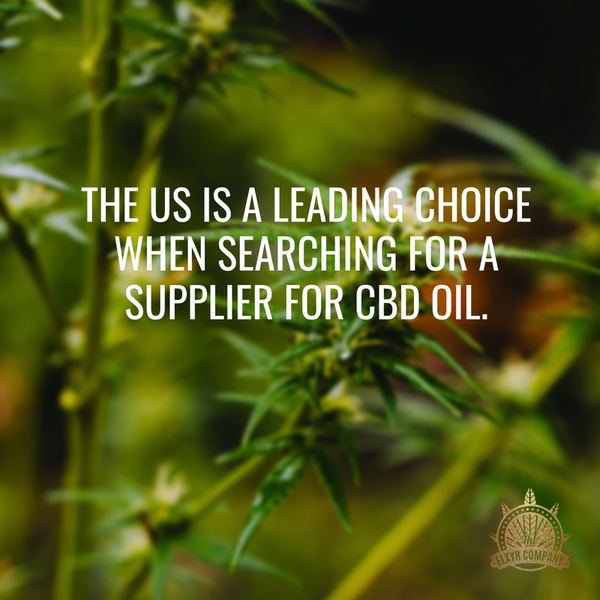 Why choose CBD from USA vs China or EU? – The Elxyr Company