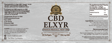 Elxyr CBD Softgels 750mg