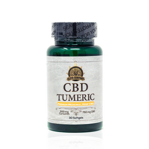 Elxyr CBD Softgels with Tumeric 750mg
