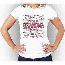 IT'S A GRANDMA THING T-Shirt Women's 100% Cotton Tee - funshirtsusa