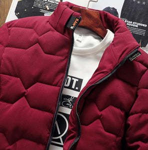 Men's Down Fashion Fall/Winter Jacket 0919 - funshirtsusa