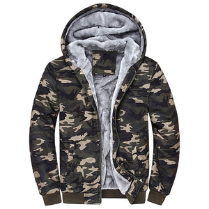 MYDBSH Men's Fleece Lined Hooded Sweatshirt