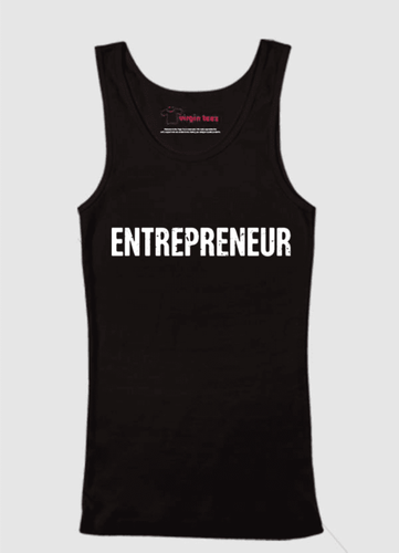 ENTREPRENEUR 100% Cotton Men's Tank Top - funshirtsusa