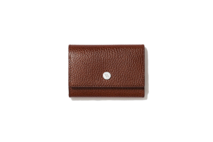 Wide Key Case Cigar Brown