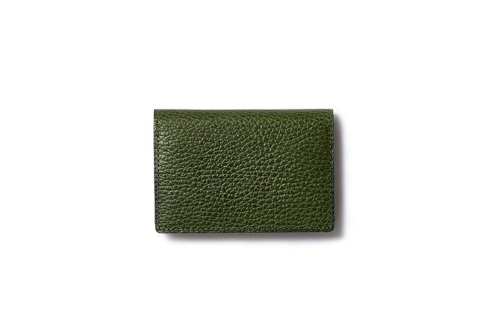 Business Card Case Green