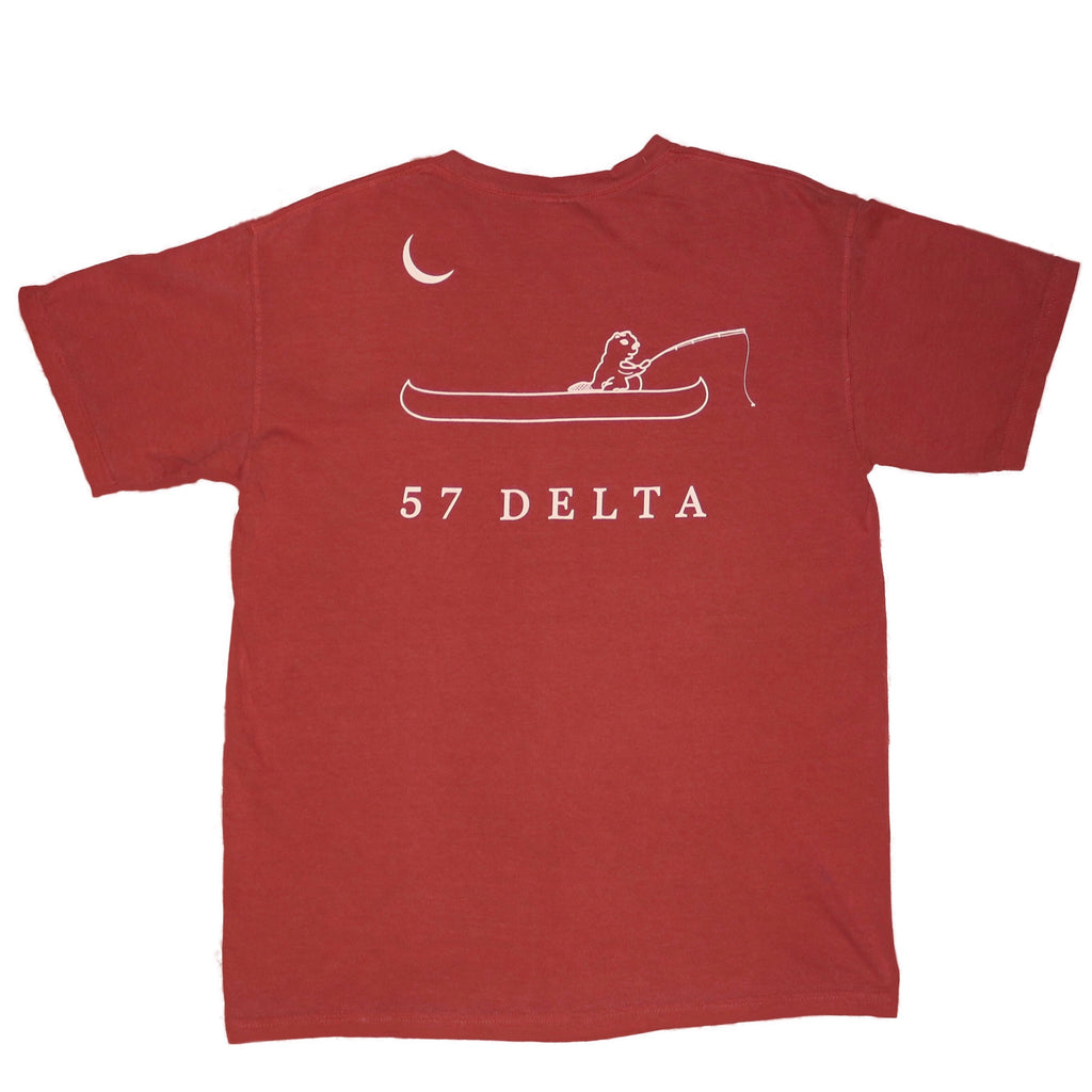 Fishing Beaver - Short Sleeve - 57 Delta Clothing