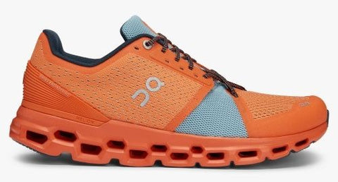 On Running Shoes Cloudstratus Orange
