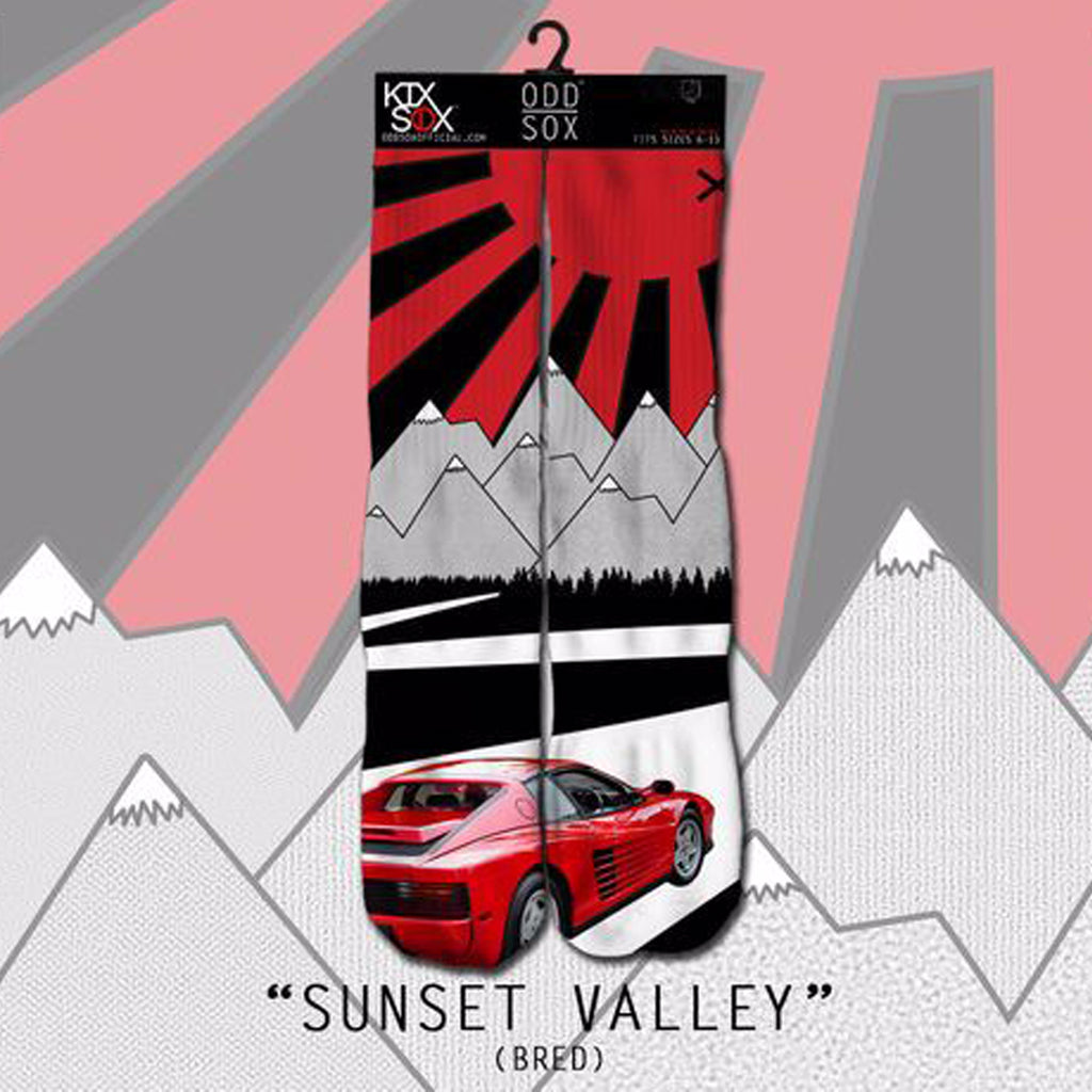 Odd Sox - Bred Car (Sunset Valley)