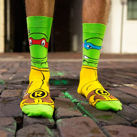 Odd Sox - Retro Turtles