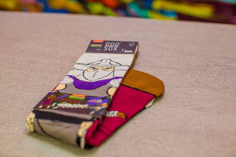 Odd Sox - Splinter & Shredder Socks