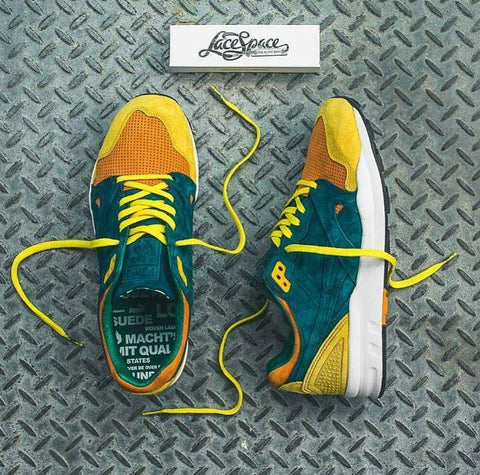 Lace Space - Yellow - Flat Laces