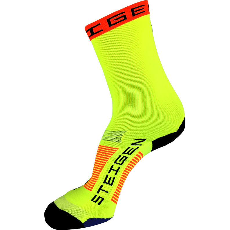 Steigen Socks - 3/4 Length - Fluro Yellow