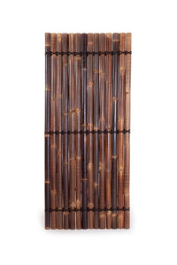 2.2m Premium Black Bamboo Fencing Panels / Privacy Screening