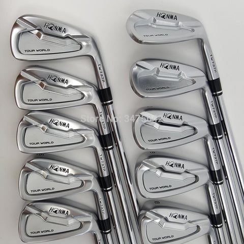 Golf Clubs golf iron HONMA Tour World TW737p iron group 4-10 w (10 PCS) Color silver