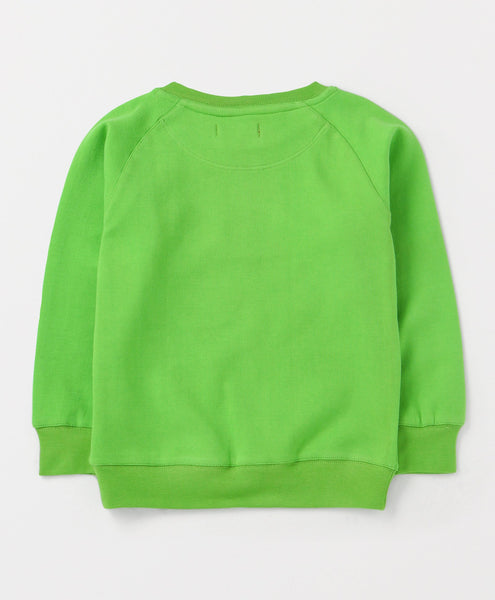 Olele® Boys Forest Green Cotton Sweatshirt