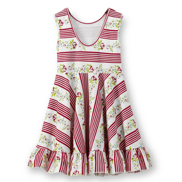 Olele® Girls Red Stripe Dress