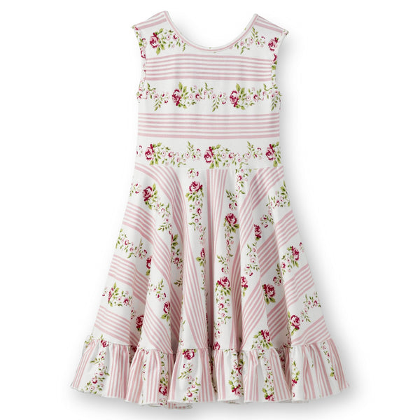 Olele® Girls Pink Stripe Dress