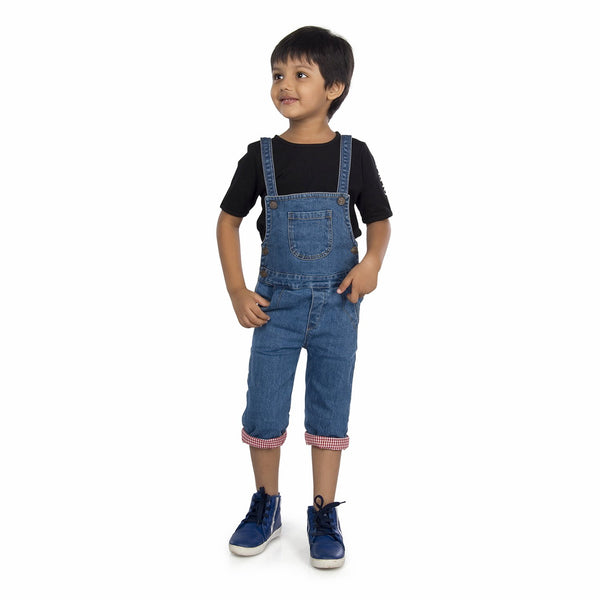 Olele® Denim Dungaree For Boys