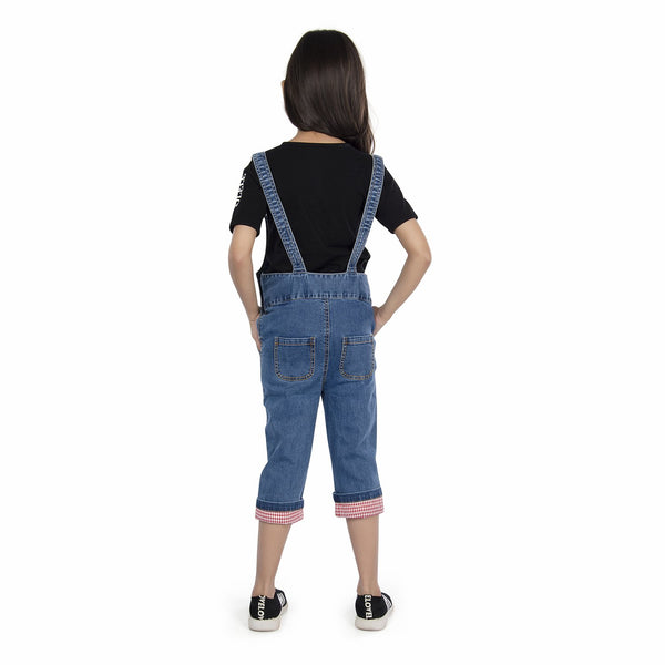 Olele® Denim Dungaree For GIRLS