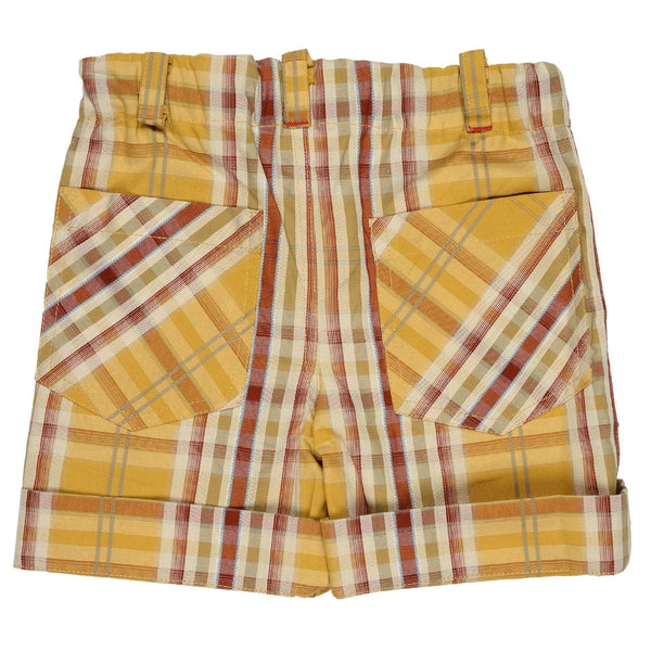 Olele® Boys Short Pant Yellow Stripe
