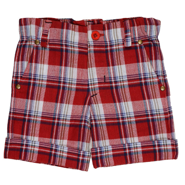 Olele® Boys Short Pant Red Stripe