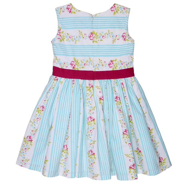 Olele® Girls Dress Plum Bow
