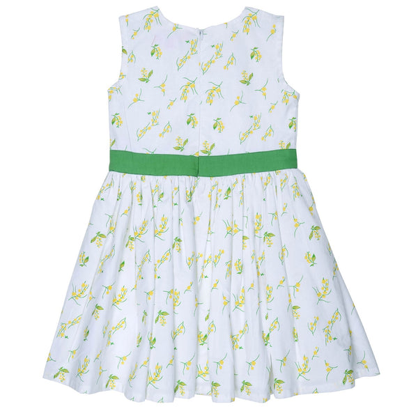 Olele® Girls Dress Green Bow