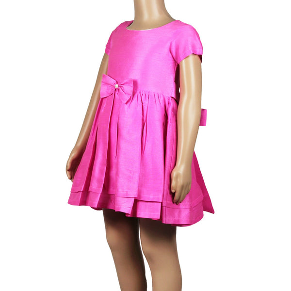 Olele® Girls Dress Pink Pearl