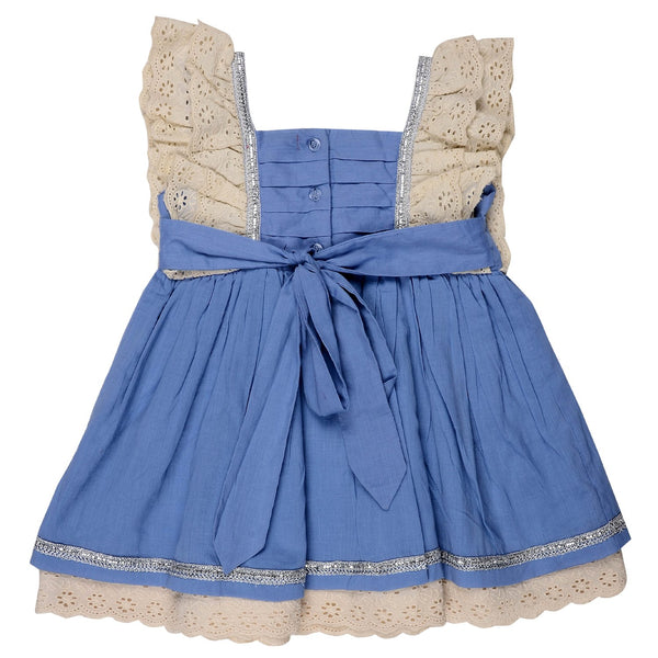 Olele® Girls Twin Bow Lace Dress
