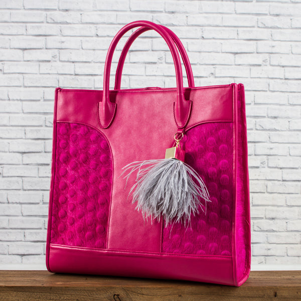Leather Bag - Pink
