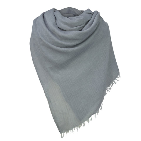 GREY COTTON HIJAB