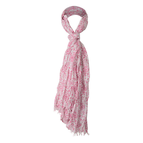 PINK CRINKLE COTTON HIJAB