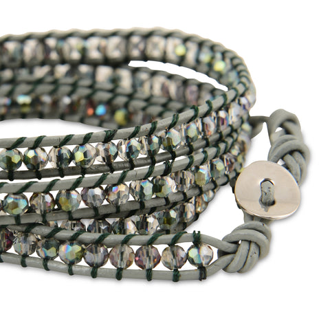 TROPICAL BREEZE CRYSTAL WRAP BRACELET
