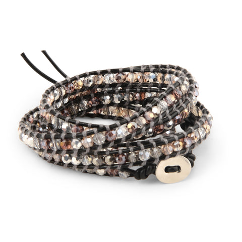 MOONSHINE CRYSTAL WRAP BRACELET