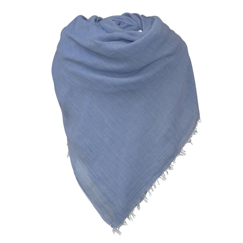BLUE COTTON HIJAB
