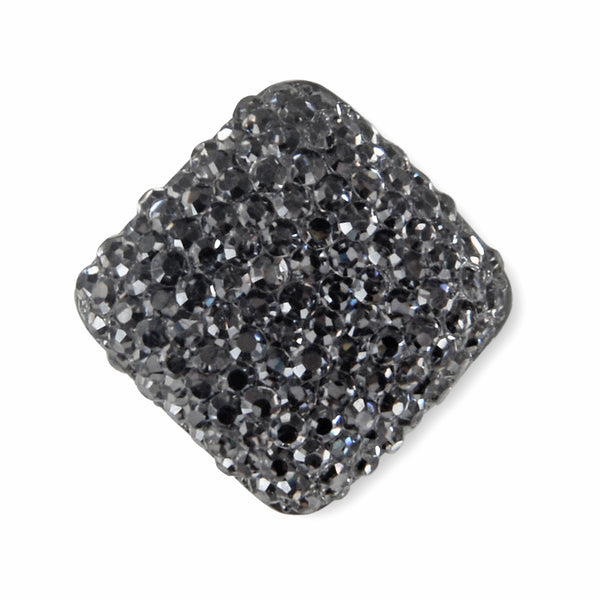 GRAPHITE GREY BROOCH