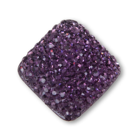 DAMSON PURPLE BROOCH