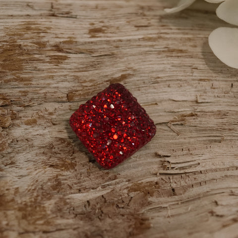 RUBY RED BROOCH