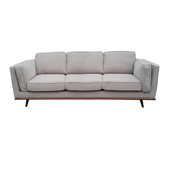 York Fabric 3 Seater