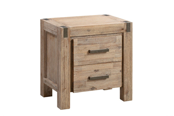 Modern Bedside Table Oak