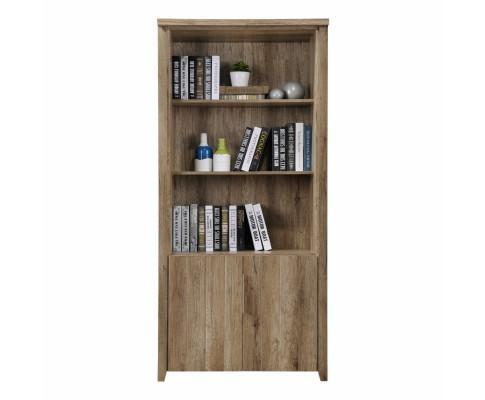 💎 Alice Open Shelf Book Case with Cabinet