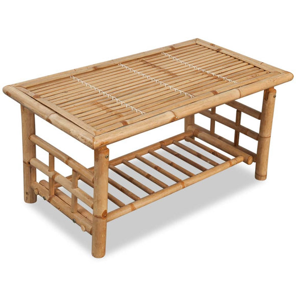 Tropical Bamboo Coffee Table