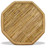 Coffee Table Bamboo Octagon 60x60x45 cm