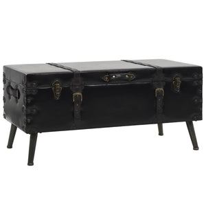 Vintage Suitcase Style Coffee Table with Storage