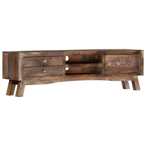 Ranch Style Mango Wood TV Cabinet