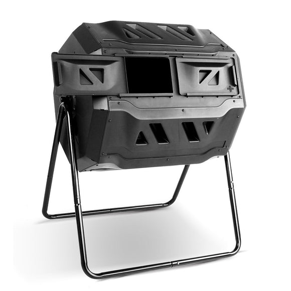 Large 160 Litre Dual Chamber Compost Bin