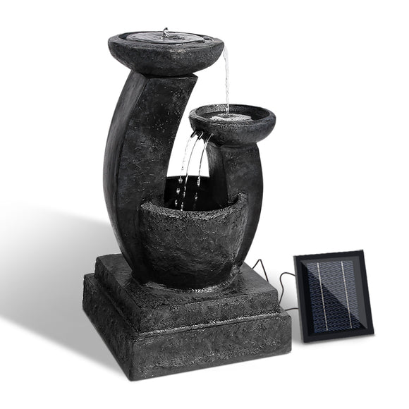 💎 Solar Powered Three Tier Water Fountain