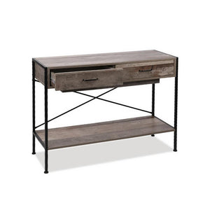Industrial Hallway Console Table