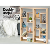 Modern Floating Wall Shelf Oak 92cm