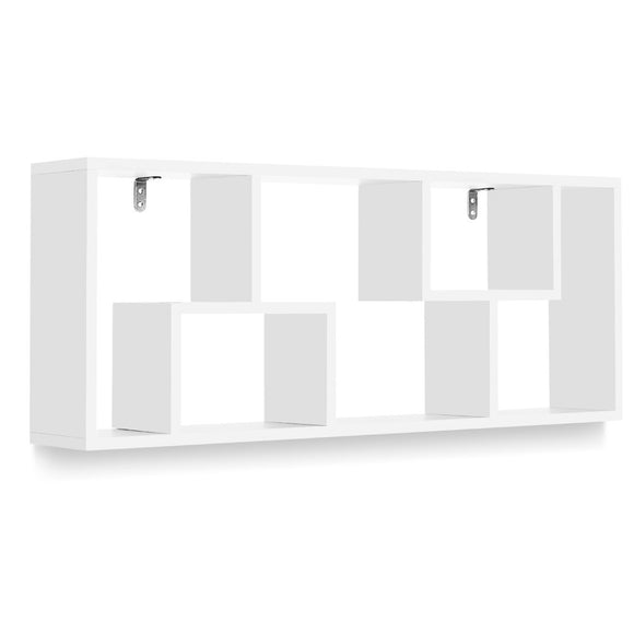 Modern Floating Wall Shelf White 92cm